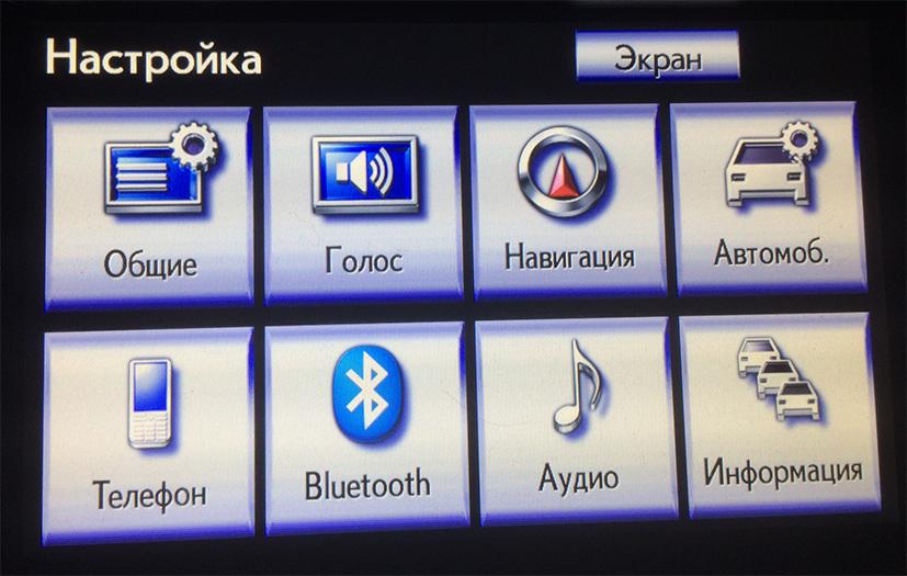 Русификация и адаптация Lexus RX 350 - 450H USA модельного ряда 2012-2014 г